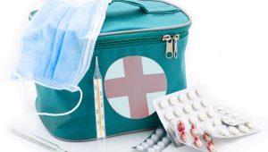Antisépticos para curar las heridas de los niños
