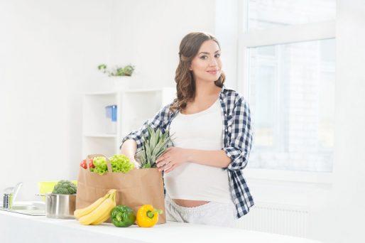 Desayuno para embarazadas