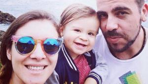 Carla Jara comparte adorables postales del bautizo de su hijo Mariano