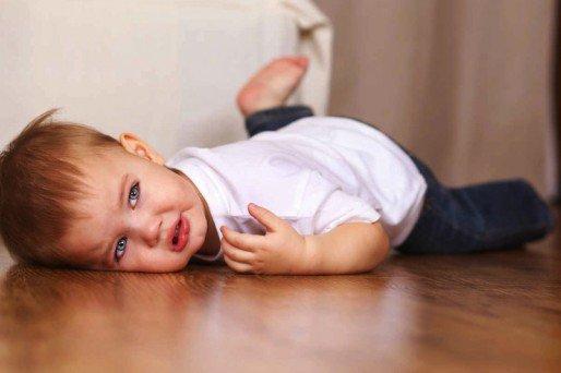 Qué hacer si al niño le sale un chichón