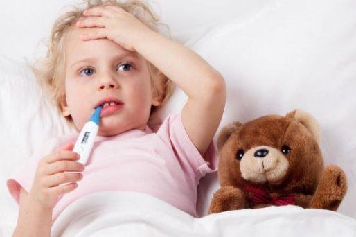 fiebre infantil
