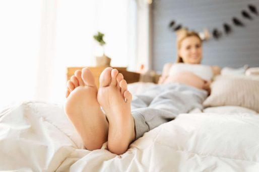los pies crecen después del embarazo