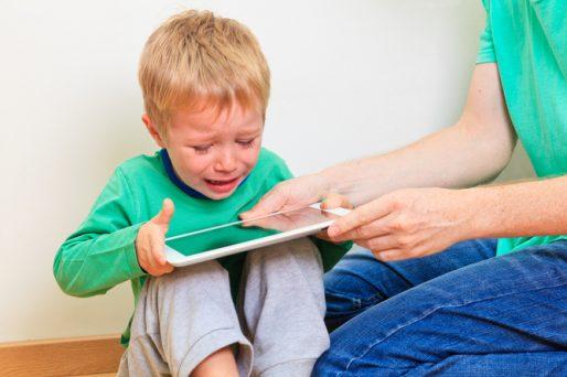 niños adictos a las tablets