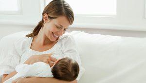 Nutrición para madres lactantes