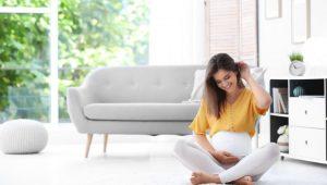 síntomas iniciales del embarazo