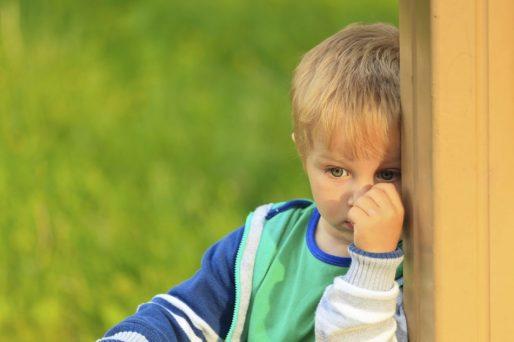 Por qué un niño es tímido