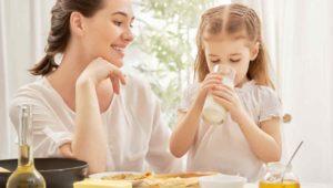 leche para niños