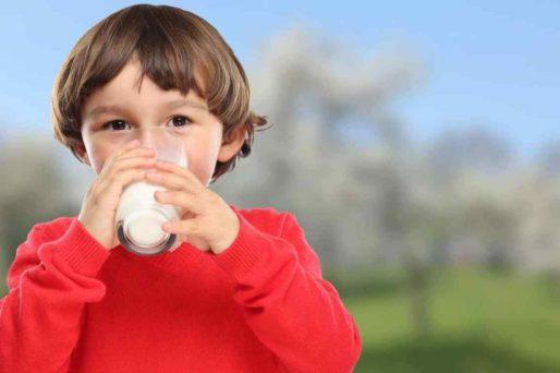 Beneficios de la leche para niños