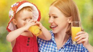 Cuándo es adecuado el jugo de frutas para los bebés
