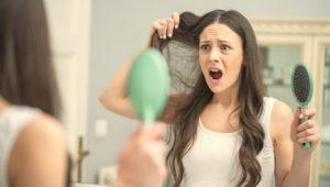 Evitando la caída del cabello después del parto